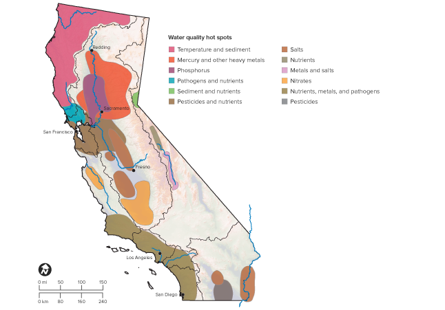 Figure - Water Quality California