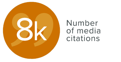Infographic: Number of media citations